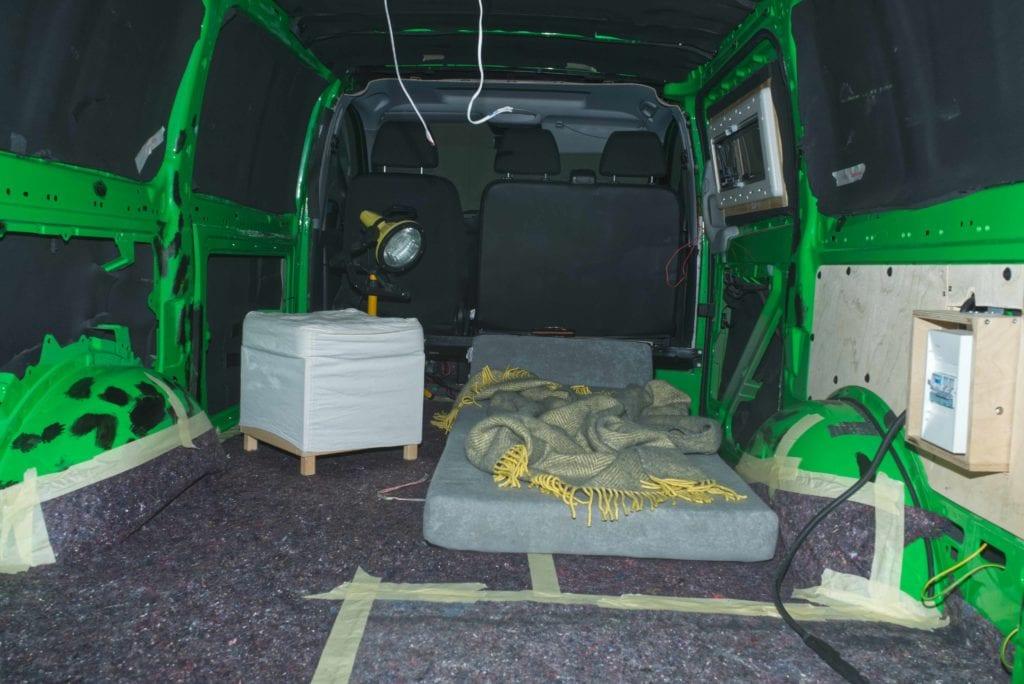 Transporter zum Camper umbauen