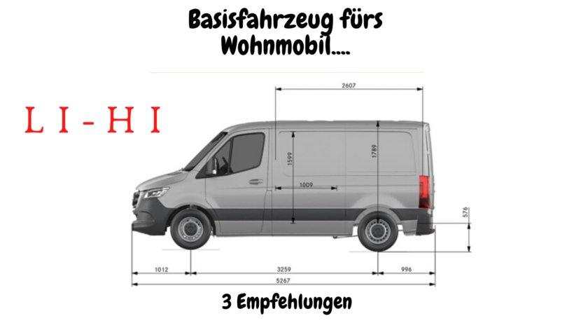 Basisfahrzeug Wohnmobil Ausbau