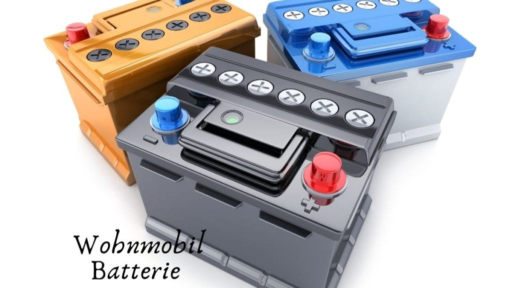 Wohnmobil Batterie