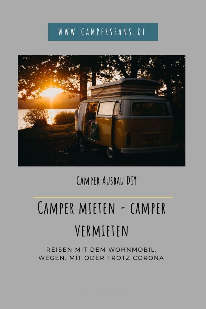 Camper mieten